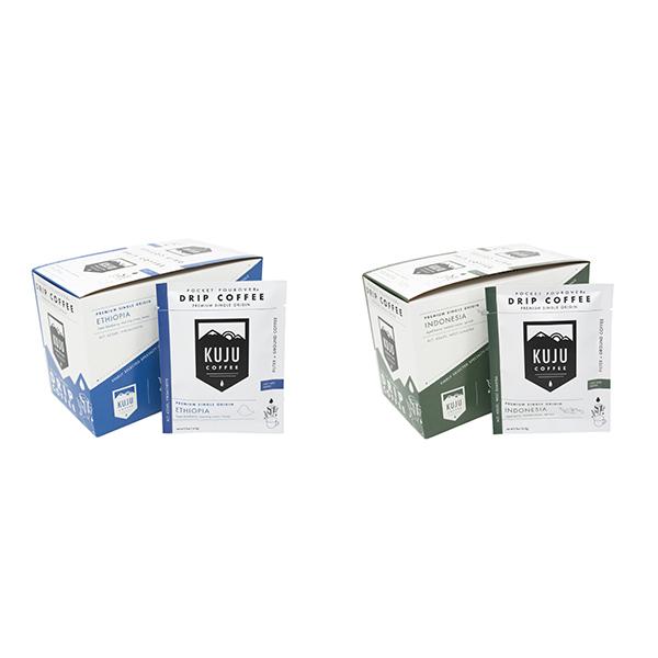 Kuju Coffee Pocket PourOvers Image 1